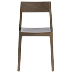 timber stackable dining chair  -