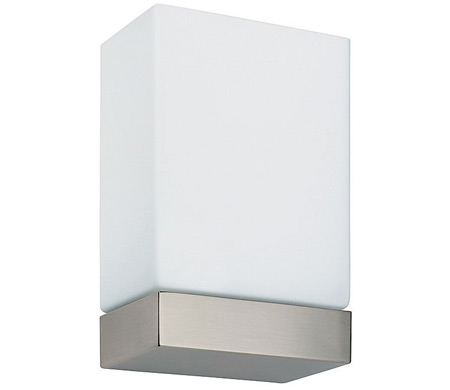 tin square wall sconce