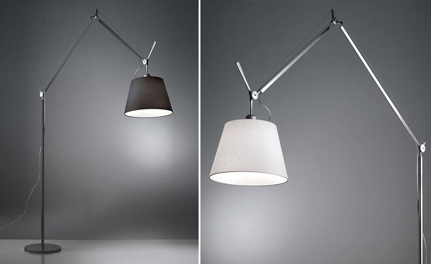 ... Tolomeo Desk Lamp Black By Tolomeo Mega Floor Lamp Hivemodern Com ...