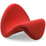 pierre paulin tongue chair  -