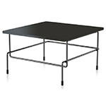 traffic low square table  -
