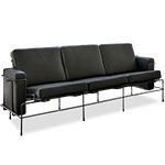 magis traffic three seat sofa  -