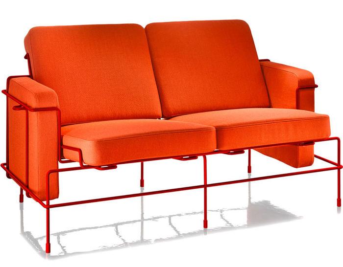 magis traffic two seat sofa