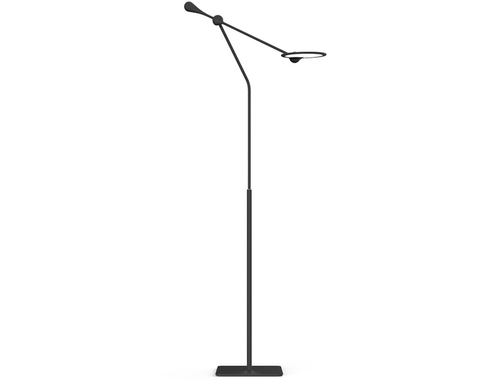 trapeze floor lamp