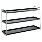 kartell trays 3 shelf bookcase  -