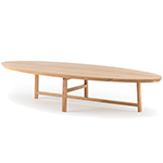 trio oval coffee table 754o  -