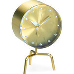 george nelson tripod desk clock  -