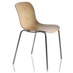 troy patterned plywood chair four pack - Marcel Wanders - magis