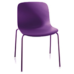 troy plastic stacking side chair two pack  -