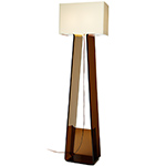 tube top floor lamp  - pablo