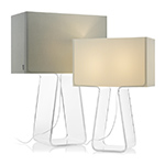 tube top table lamp  - pablo