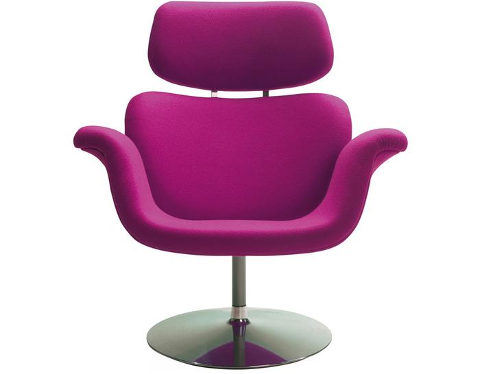 pierre paulin tulip lounge chair