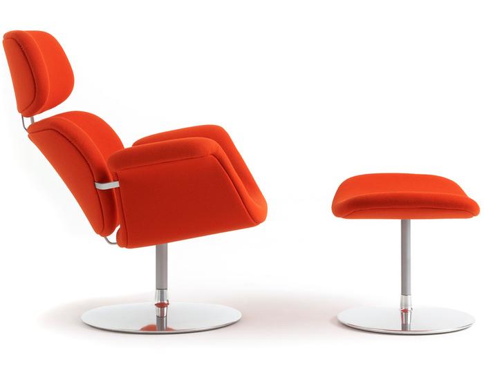 tulip chair & ottoman