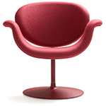 tulip midi chair with disk base - Pierre Paulin - artifort