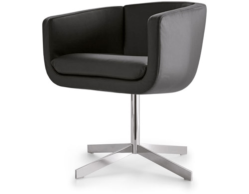 tulip sixty 4 star base work chair