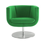 tulip sixtysix swivel lounge chair - Jeffrey Bernett - b&B Italia project by teknion