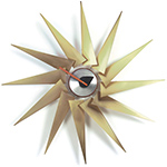 george nelson turbine clock  -