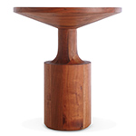 turn tall side table  -