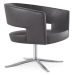 turner swivel base easy chair  -