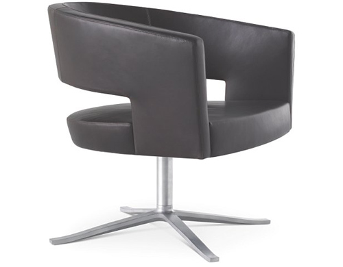 turner swivel base easy chair