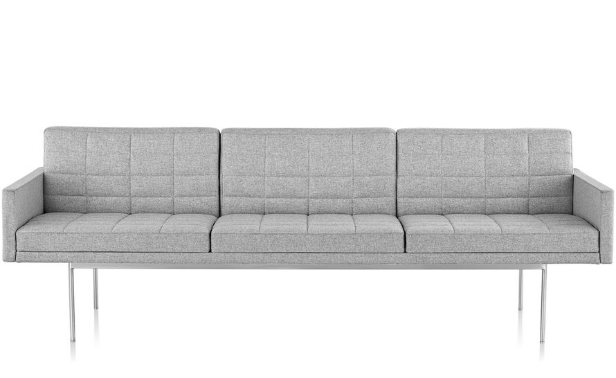 tuxedo component lounge sofa with arms