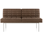tuxedo settee without arms  -
