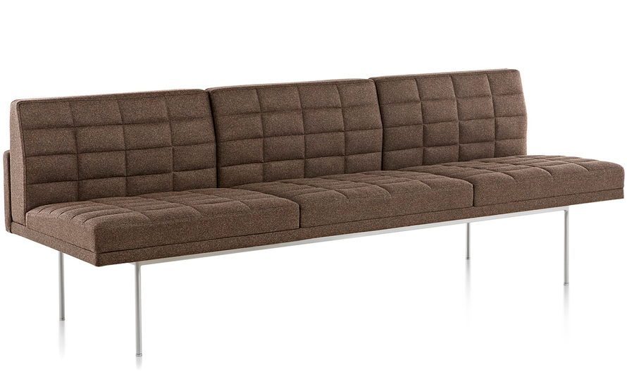 Tuxedo Sofa Without Arms
