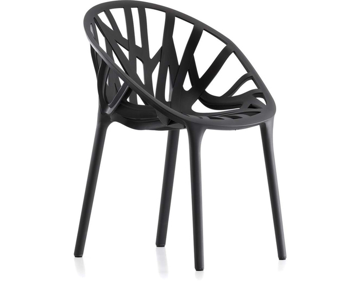 vegetal stacking chair