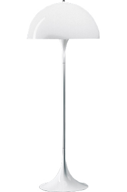 verner panton panthella floor lamp