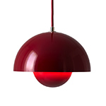 verner panton vp1 flowerpot suspension lamp  -