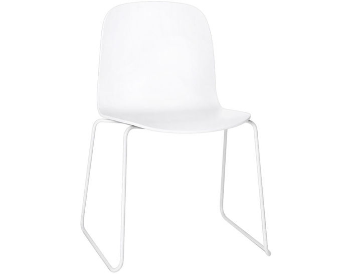 visu chair with sled base