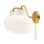 vl ring crown double wall lamp  - Louis Poulsen