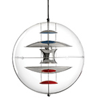 verner panton vp globe suspension lamp  -
