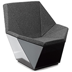washington prism lounge chair -  - Knoll