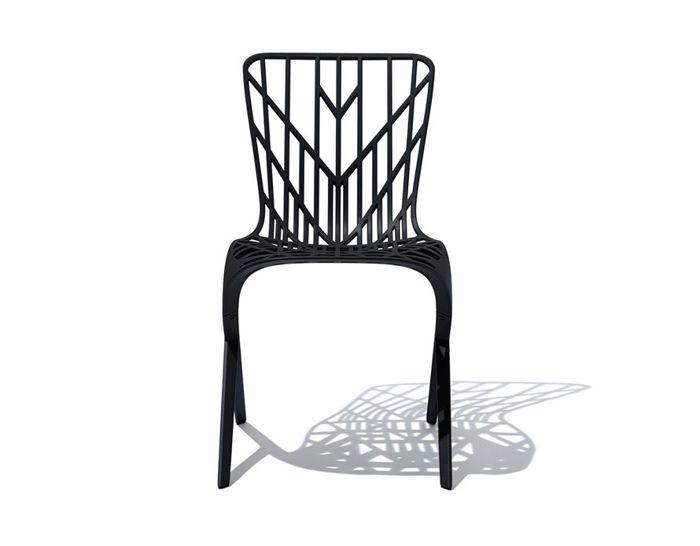 washington skeleton side chair