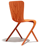 washington skin nylon side chair  - Knoll
