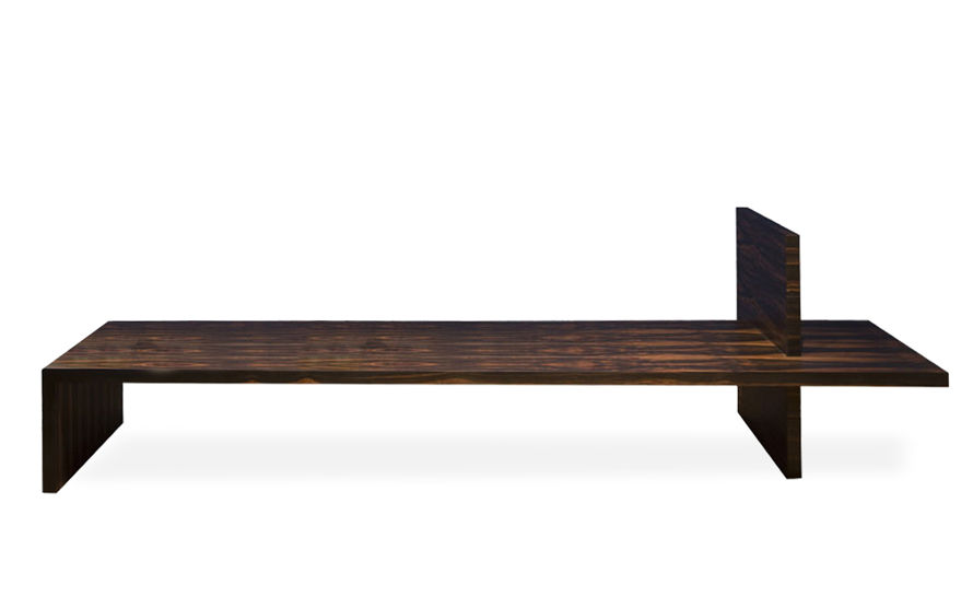waterside bench