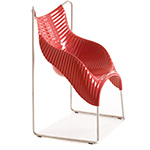 wavy stacking chair  -