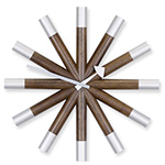 george nelson wheel wall clock  -