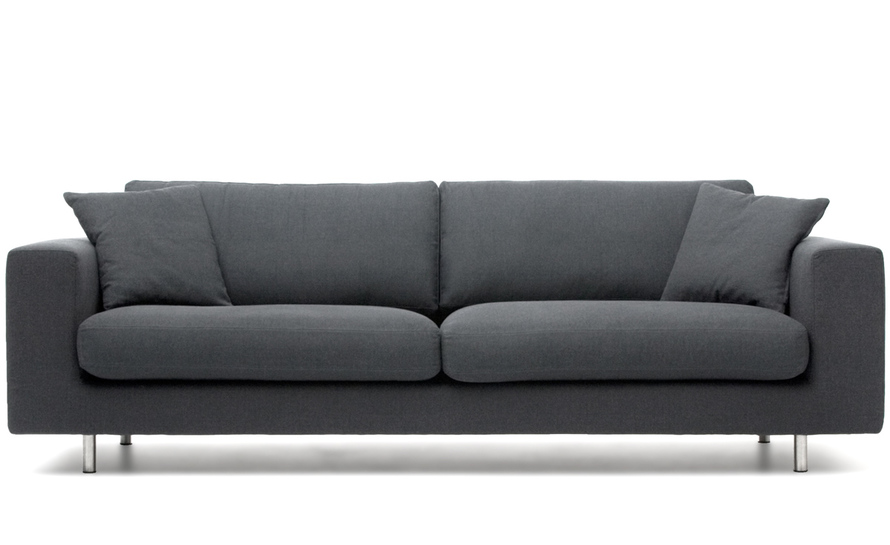 wide arm 2 seat sofa