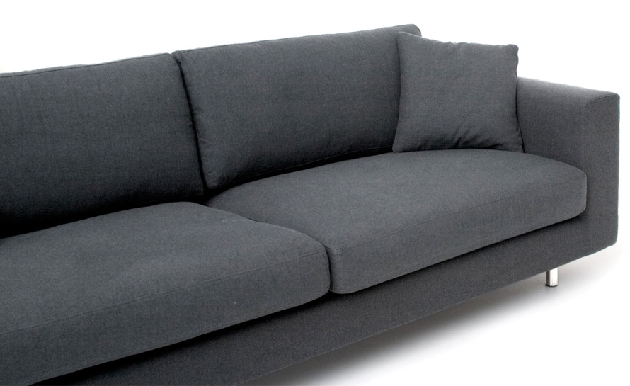 wide arm 3 seater sofa