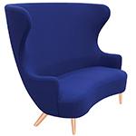 wingback 2 seat sofa  -