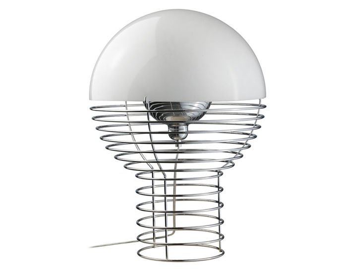 panton wire table lamp