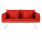 wireframe 2-seat sofa  - Herman Miller