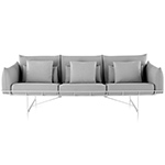 wireframe 3-seat sofa