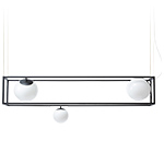 witt 3 led suspension lamp  - Rich Brilliant Willing