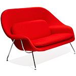 womb settee - Eero Saarinen - Knoll