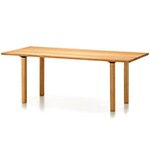 wood table  -