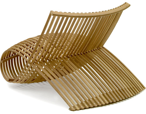 Wooden chair hivemoderncom for Marc newson wooden chair
