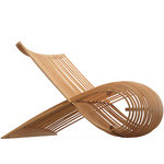 wooden chair - Marc Newson - Cappellini
